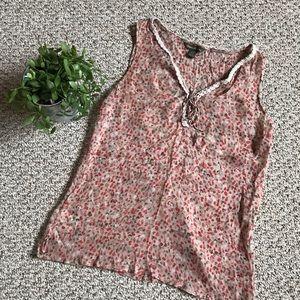 🎉 Tommy Bahama silk sleeveless shirt